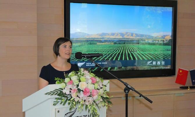新西兰葡萄种植与葡萄酒酿造协会亚洲市场经理彭宁莉(Natalie Potts)女士