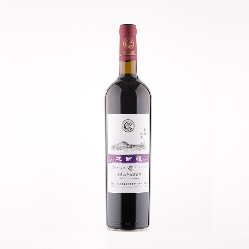 戈丽雅马兰花赤霞珠干红葡萄酒