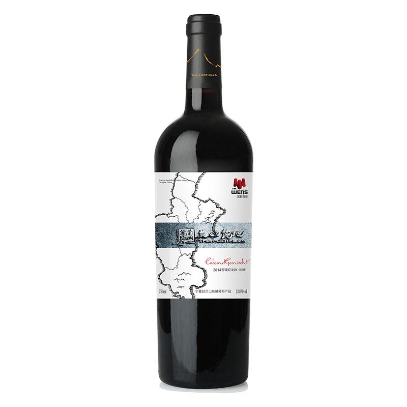 兰山麓地风情蛇龙珠干红葡萄酒