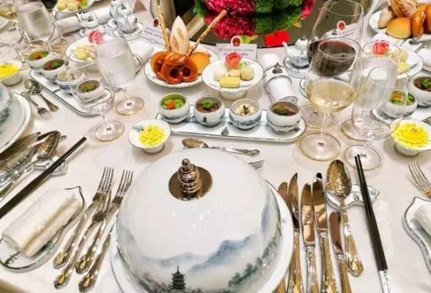 精美的餐具,让各国领导人对杭州,对中国文化有了更直观的印象